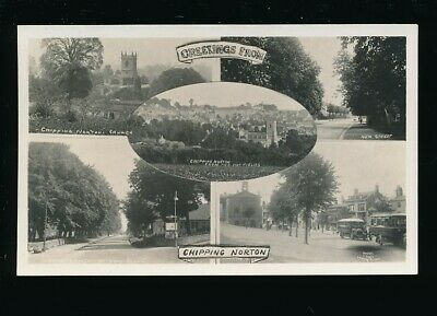Gloucestershire Glos CHIPPING NORTON M/view c1920/30s? RP PPC by Frank Packer