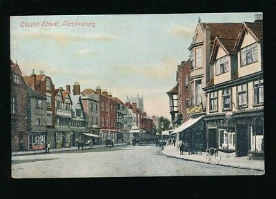 Gloucestershire Glos TEWKESBURY Church St c1900/10s? PPC by Valentine