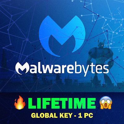 Malwarebytes Anti-Malware Premium | Lifetime | Warranty | 1 Device | Global Key