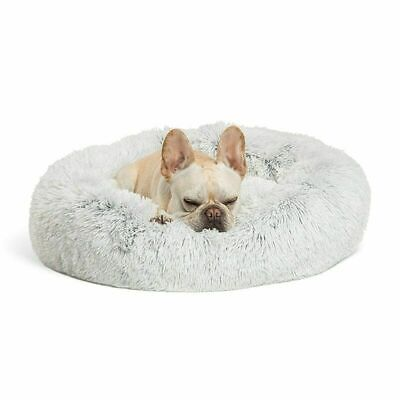 CALMING BED Absolut Soothing Bed Warm Fleece Dog Bed Puppy Mat Pet Beds I0A N3Y6