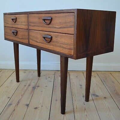 Danish Mid-Century Kai Kristiansen Brazilian Rosewood Chest Of Drawers, 1960s