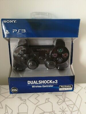 Brand New Official Sony PS3 DUAL SHOCK 3 Wireless Controller - Charcoal Black