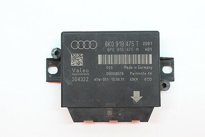 2012 Audi A4 Parking Aid Assist Control Module 8K0 919 475 T Oem 09 10 11 12
