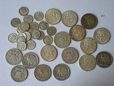 GOOD STUFF NOT JUNK FREE SHIP/'N SWEET DEAL,$.30 FACE VALUE,ALL 90/% SILVER