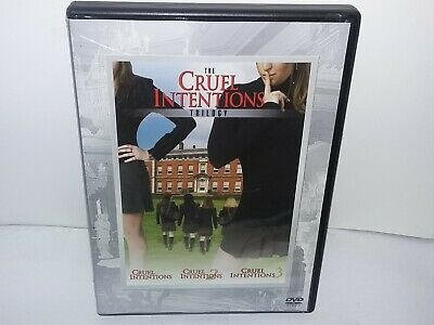 Cruel Intentions Trilogy (DVD, 3 Discs, Canadian, Region 1, Widescreen) VG