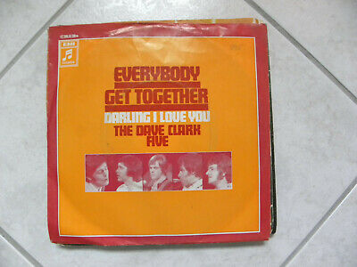 """Vinyl Single 7"""" The Dave Clark Five, EVERYBODY GET TOGETHER"""