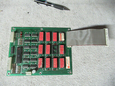 WILLIAMS ROM  DEFENDER  UNTESTED  arcade game  PCB board  c135-9