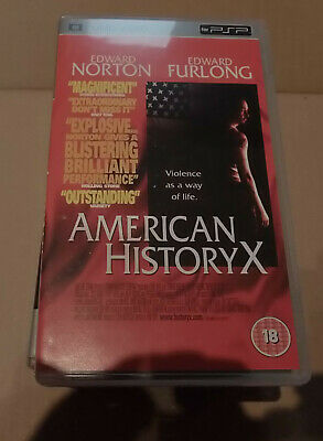 American History X (very good)  Sony PSP UMD Video Movie