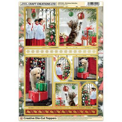 Craft Creation Christmas Selection S2 Toppers For Cards & Craft