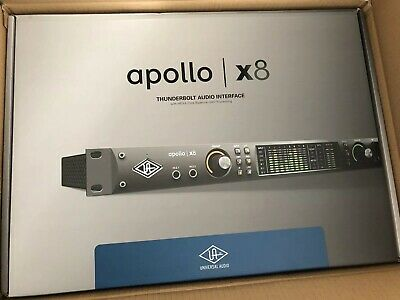 Universal Audio Apollo Rack X8 18x24 Thunderbolt 3 Audio Interface w/UAD