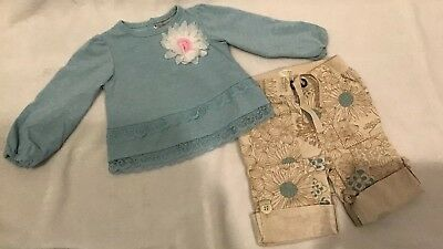 Wendy Bellissimo/Old Navy Baby Girl Outfit Set Size 6-12 Months EUC (BIN AC)