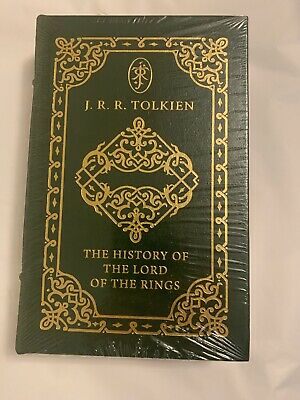 War Of The Ring, JRR Tolkien History Lord Of The Rings Easton Press Leather