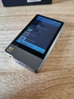 Hidizs Ap200 HiRes MP3 android Player DAC,  64gb  + MicroSD, stainless steel.