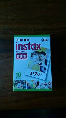 Fujifilm Instax Mini Colour 10 Shots - 1 Pack. Expired May 2015