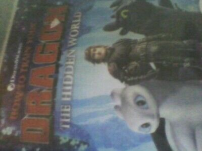 How to Train Your Dragon - The Hidden World [DVD] new sealed free post