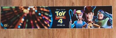 💥 TOY STORY 4 - Disney / Pixar - Movie Theater Poster / Mylar - LARGE 5x25