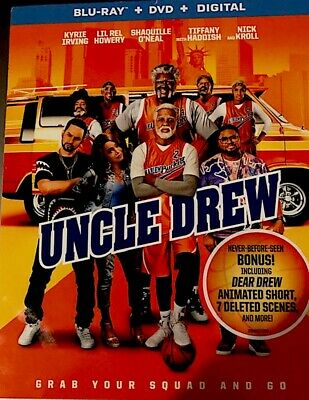 Uncle Drew (Blu-ray/DVD, 2018, Includes Digital Copy)