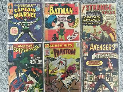 ***Huge... Estate Sale Amazing Lot Of 100 Comics Starting At $0.99***