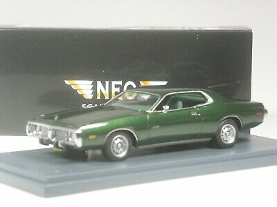 TOP: Neo Scale Models Dodge Charger grün metallic in 1:43 in OVP