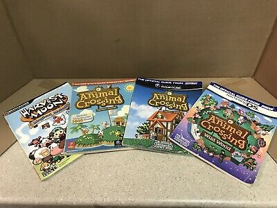 Lot Of Nintendo Rpg Strategy Guides Animal Crossing Harvest Moon