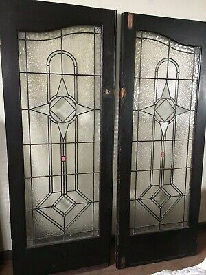 Leadlight front Doors - Stunning. -Art Deco
