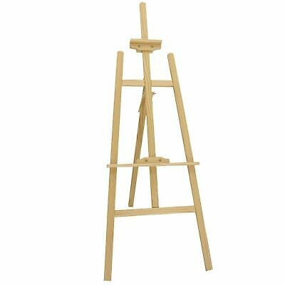 Wooden Pine Tripod Studio Canvas Easel Art Stand 6ft 5ft 4ft 3ft 2.5ft best gift