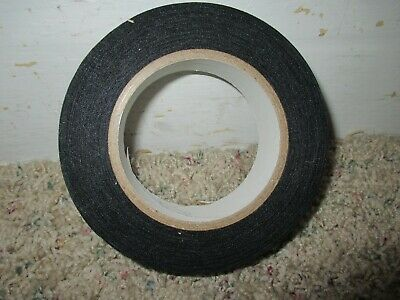 "1"" Wide Black Cloth Book Binding Repair Tape 20 Yards Yd or 60 Feet Ft"