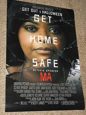 "Ma ""B"" 27x40 Original D/S Movie POSTER Octavia Spencer - Blumhouse"