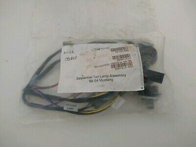 latemodel restoration 1996 - 2004 ford mustang sequential tail light harness