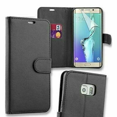 Leather Flip Wallet Magnetic Stand Case Card Slot Holder for Galaxy S5 / S5 Neo