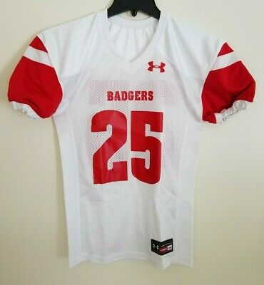 Under Armour Wisconsin Badgers Football Authentic Jersey