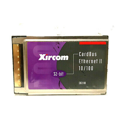 XIRCOM CBE2-100 WINDOWS 10 DOWNLOAD DRIVER