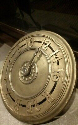 antique elevator indicator cast iron and brass 1920s New York City