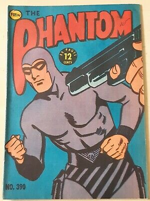 Frew Phantom comic book issue 390 flaws very good condition
