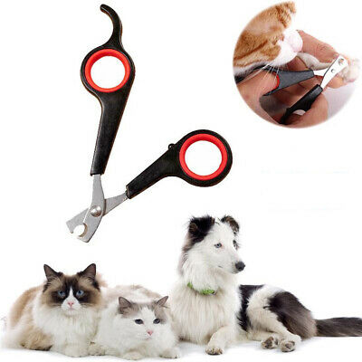 NEW Pet Nail Clippers Cat Dog Animal Claw Trimmer Grooming Scissors