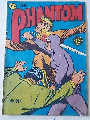 Frew Phantom comic book issue 387 flaws good condition
