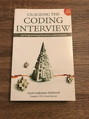 Cracking the Coding Interview: 150 Programming Questions and Solutions by McD…