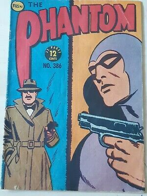Frew Phantom comic book issue 386 flaws very good condition