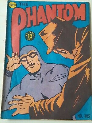 Frew Phantom comic book issue 385 flaws very good condition