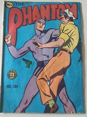 Frew Phantom comic book issue 384 flaws very good condition