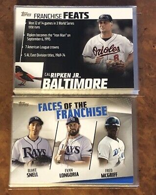 2019 Topps Series 2 Inserts Franchise Feats/faces Of The Franchise, You Pick!