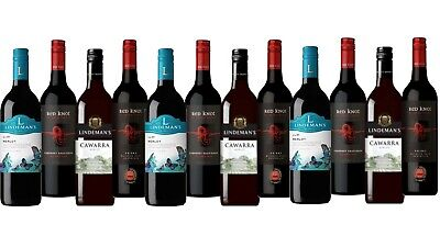 5-Star Winery Lindeman's & Red Knot Wine Mixed 12x750ml FAST & FREE SHIPPING!!
