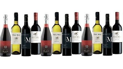 5-Star Winery McGuigan & Paul Mas Wine Mixed 12x750ml FAST & FREE SHIPPING!!