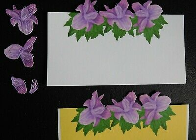 DECOUPAGE EDGE LILY DIE 441172 TATTERED LACE Stephanie Weightman - Border / edge