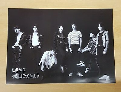 K-POP BTS 3rd Album [LOVE YOURSELF 轉'Tear'] O Ver. OFFICIAL POSTER -NEW-