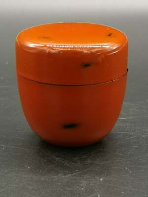 Japanese Lacquer Tea CADDY Container / Tea Container NEGORO