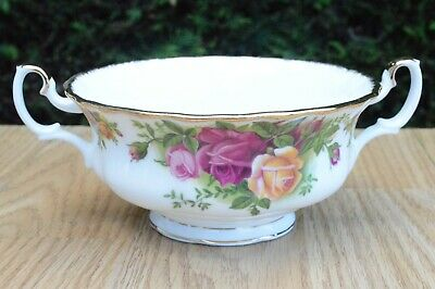 One Royal Albert Old Country Roses Bone China Soup Bowl P&P Combined