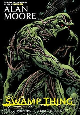 Saga of the Swamp Thing Book Three TP, Very Good Condition Book, Moore, Alan, IS