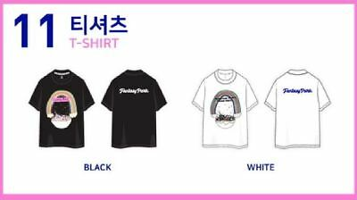 TWICE 2ND TOUR TWICELAND ZONE 2 Fantasy Park GOODS CHAEYOUNG BLACK T-SHIRT XL