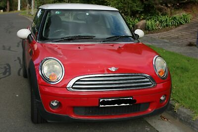 Mini Cooper 2008 red manual